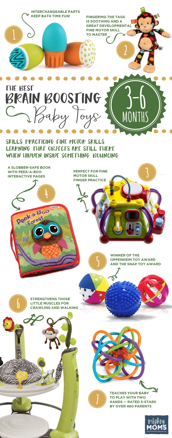 Brain boosting baby toys 3 to 6 months