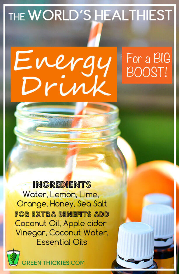 energy drink for a big boost