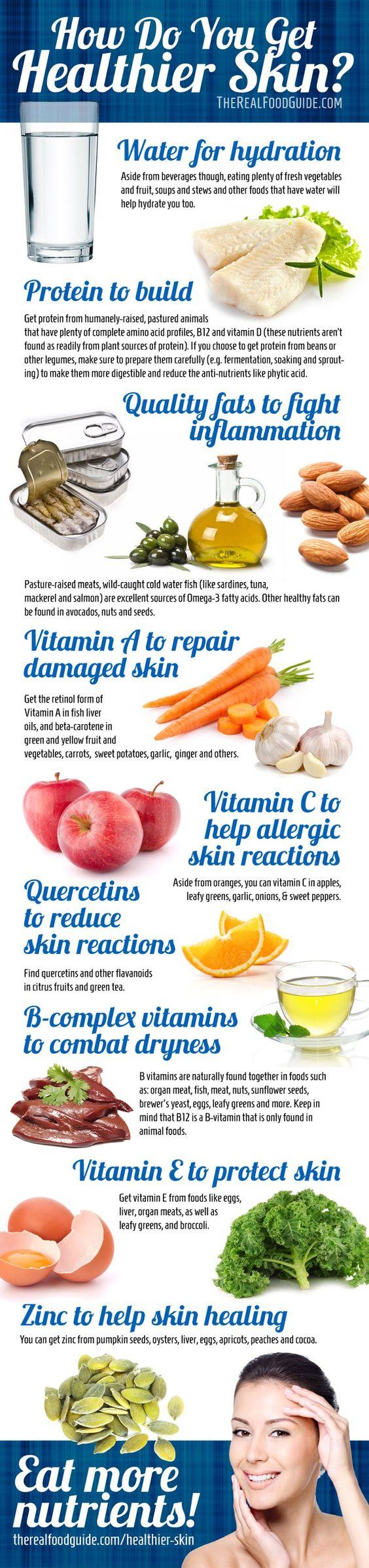 how do you get healthier skin