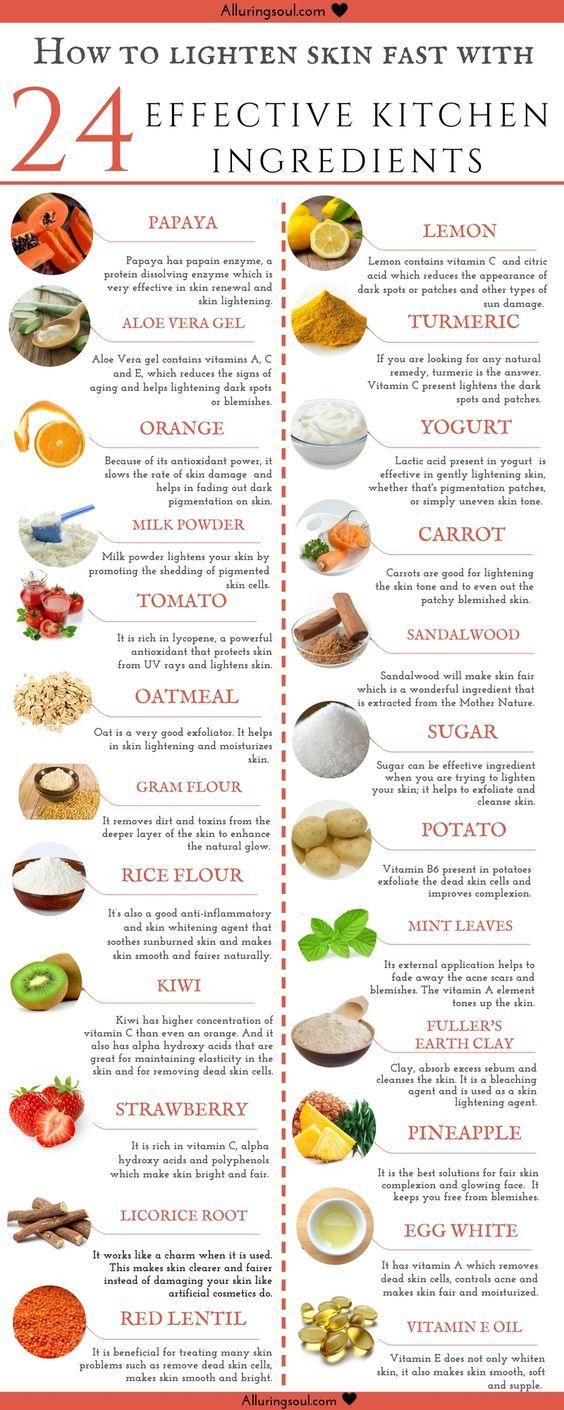 how to lighten skin fast