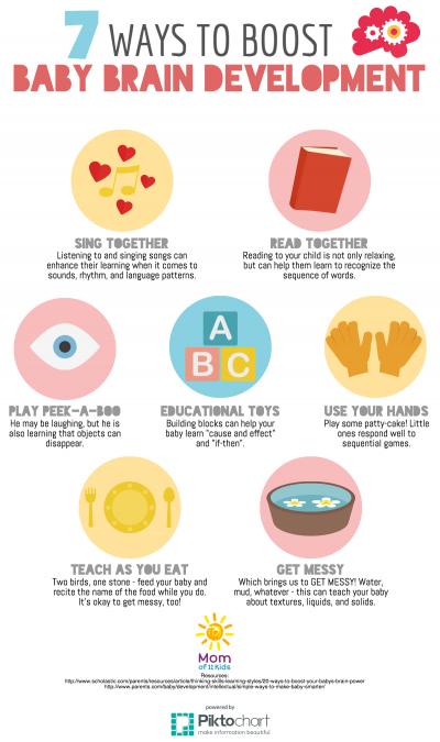ways to boost baby brain development
