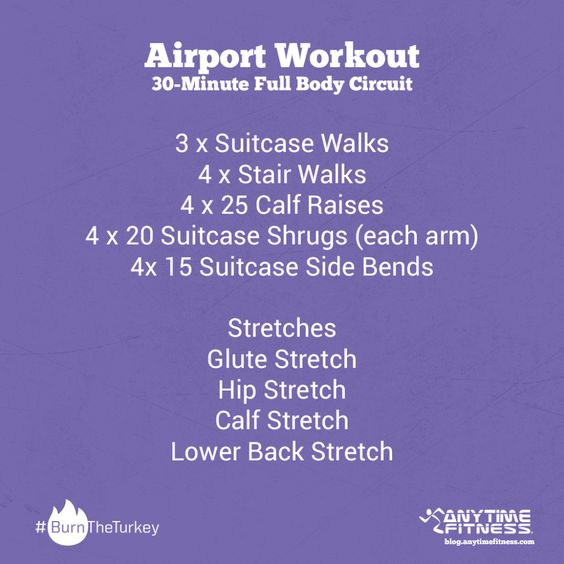 Airport Workout