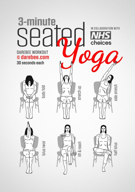 Seated Yoga for Airplane