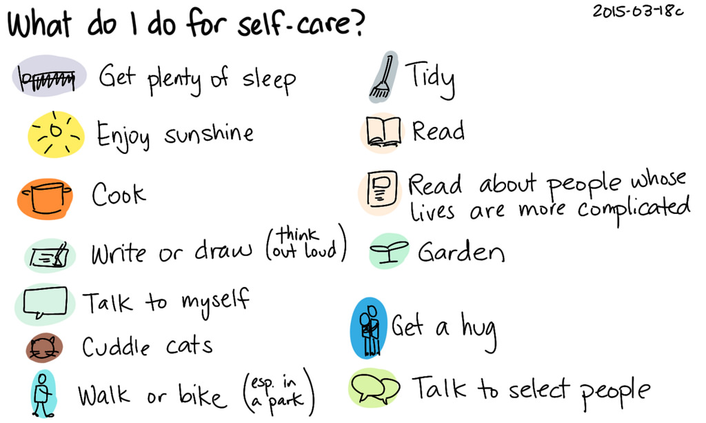 What to do for Self Care