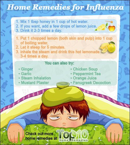 home remedies for Influenza