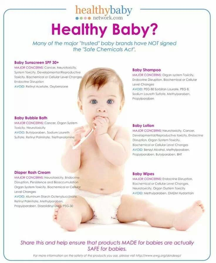 Safe chemical for healthy baby