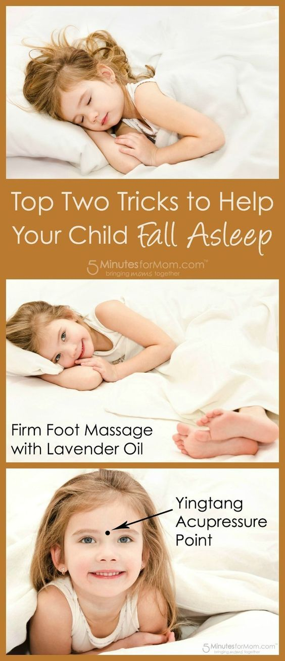Tricks to help your child fall asleep