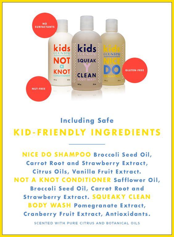 kids friendly ingredients
