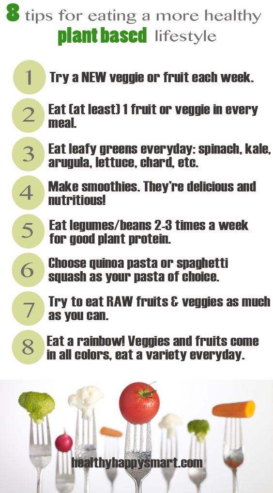 tips for eating more healthy plant based lifestyle