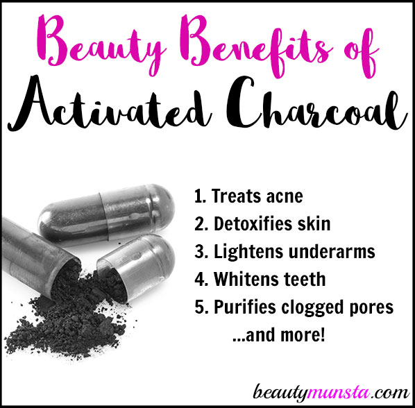Beauty Benefits of Activated Charcoal