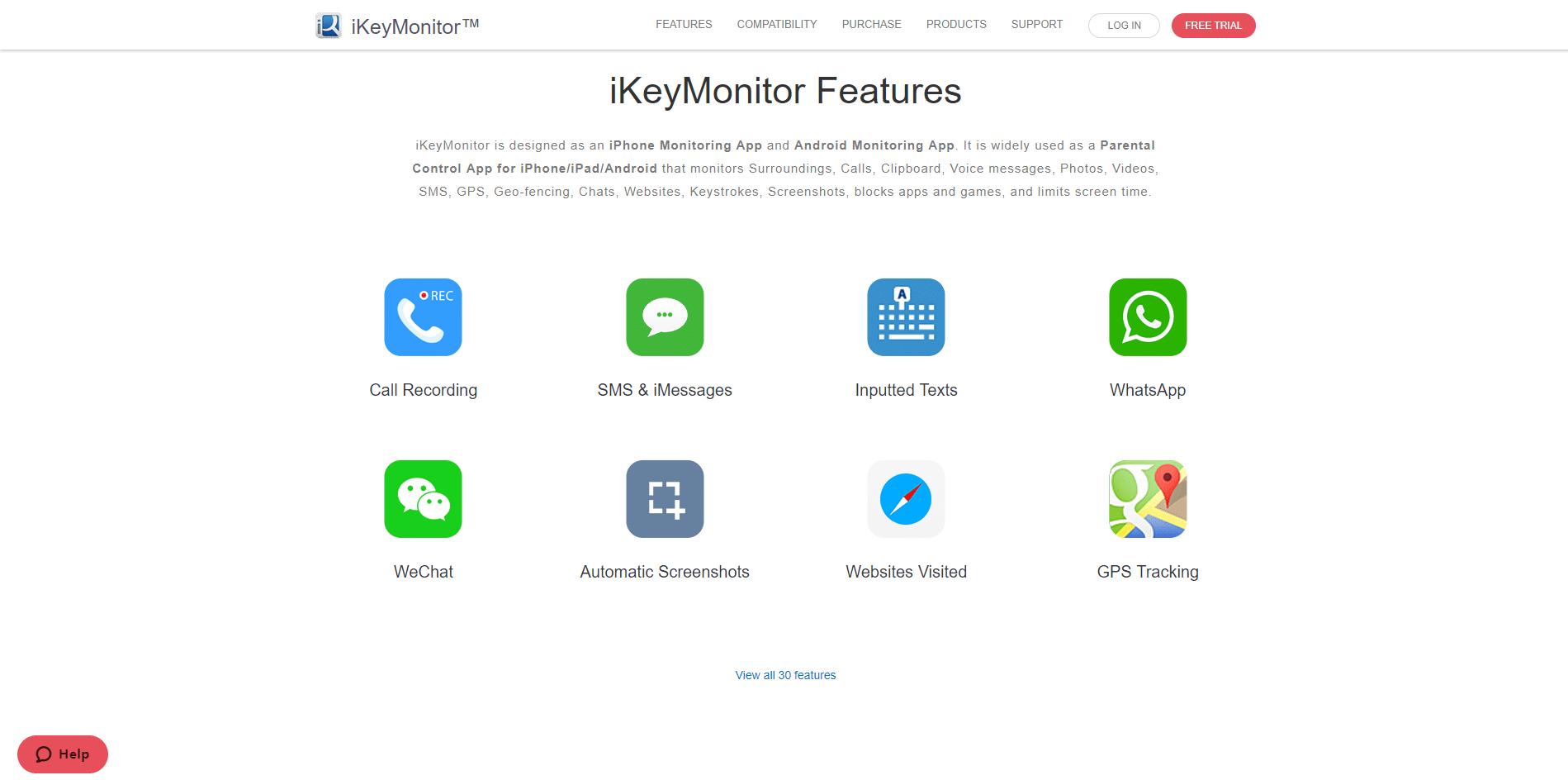 iKeyMonitor features