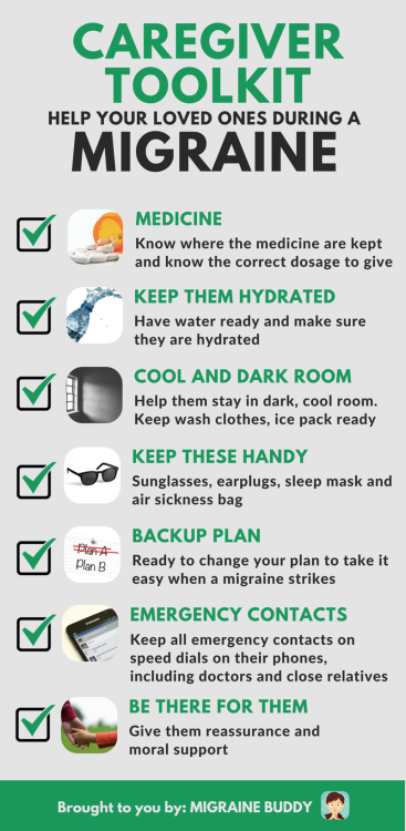 Caregiver Help your loved ones during Migraine
