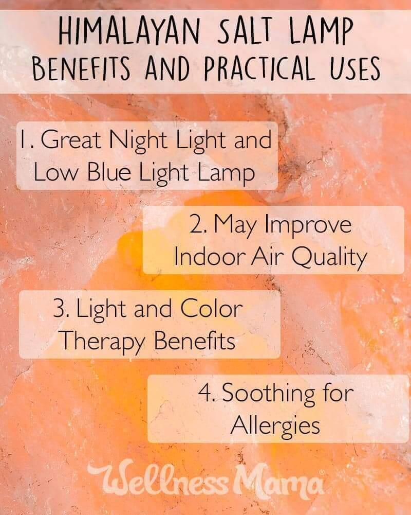 Himalayan Salt Lamp - Benefits and Practical Uses