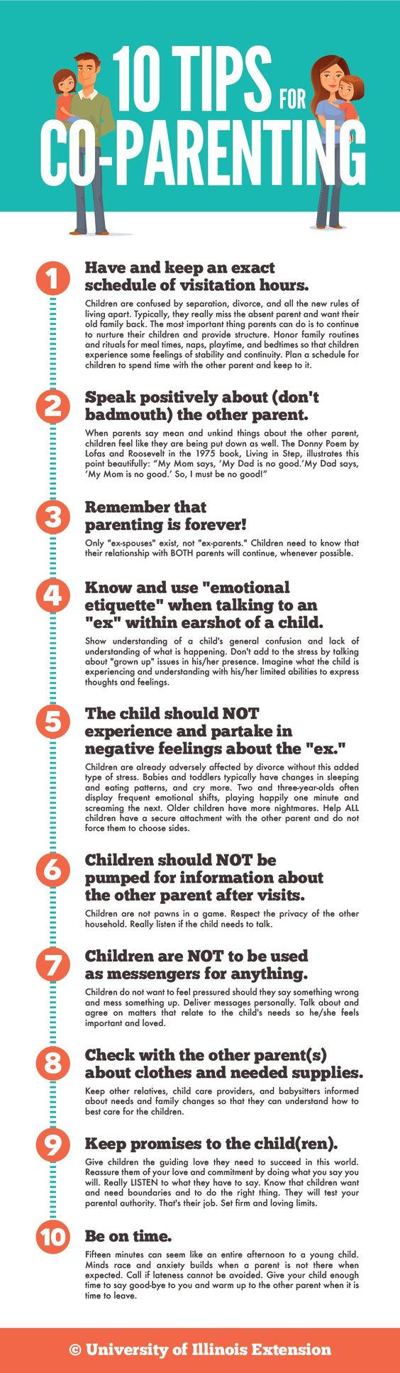 Tips for Co-Parenting