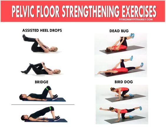 Pelvic Floor Strengthening Exercises