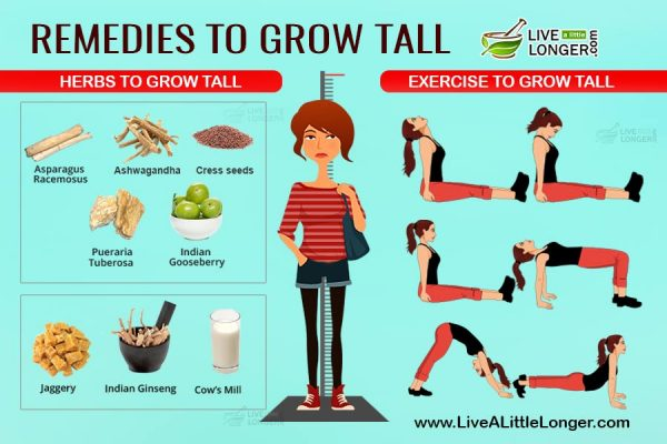 Remedies to grow tall
