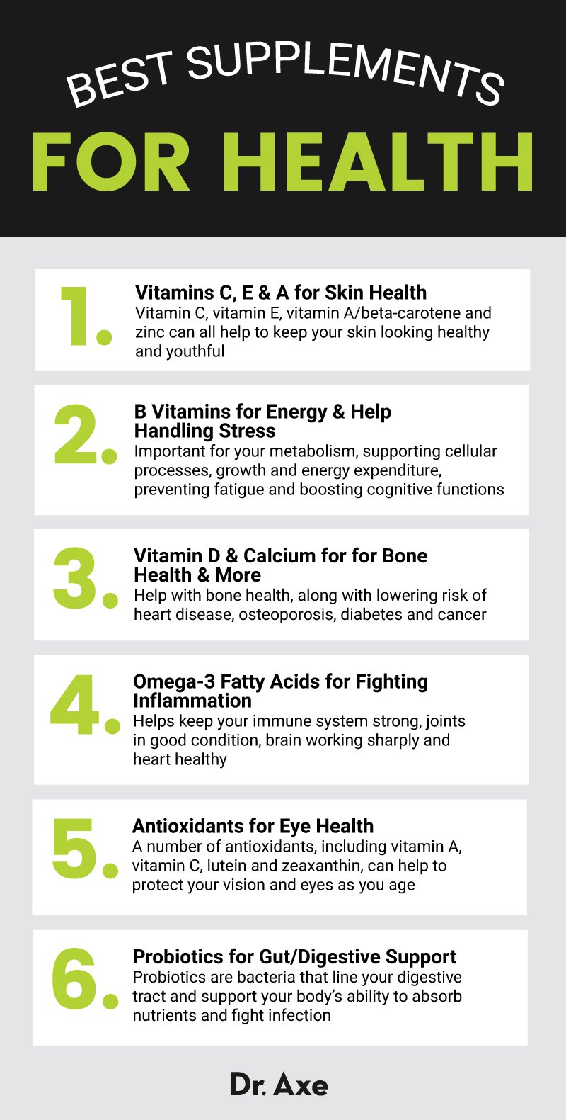 Best Supplements for Health