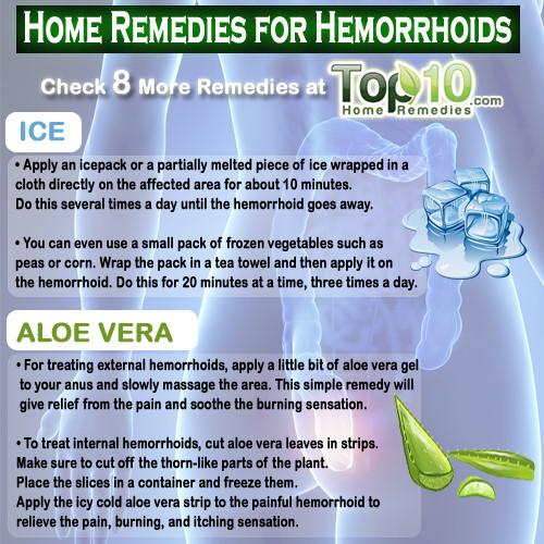Home remedies of hemorrhoids