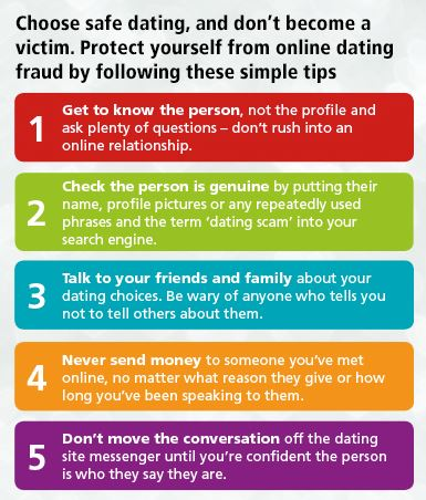 Protect yourself from online dating fraud