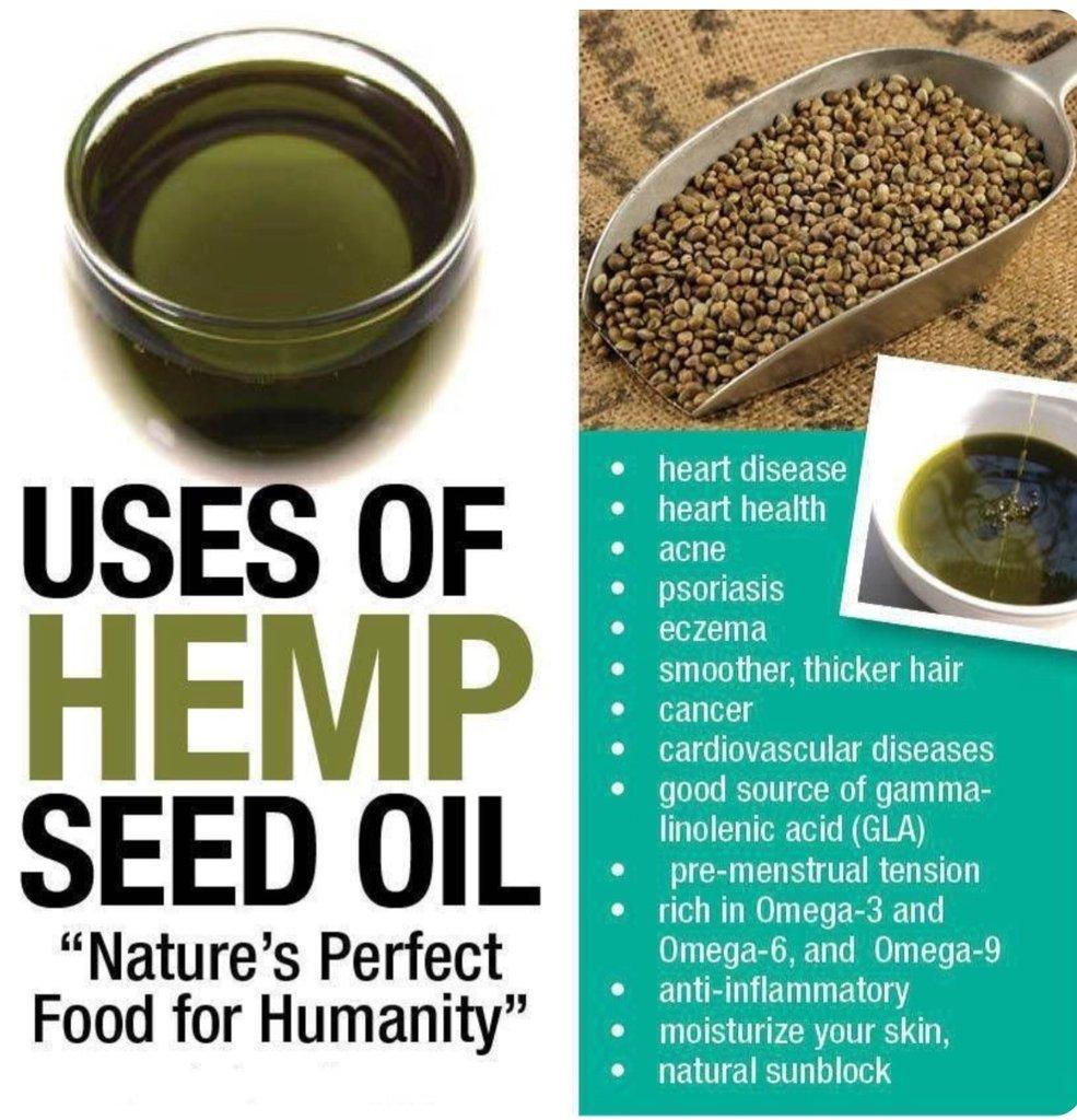 Uses of Hemp Seed Oil