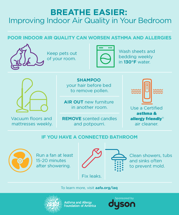 Improving Indoor Air Quality in your Bedroom