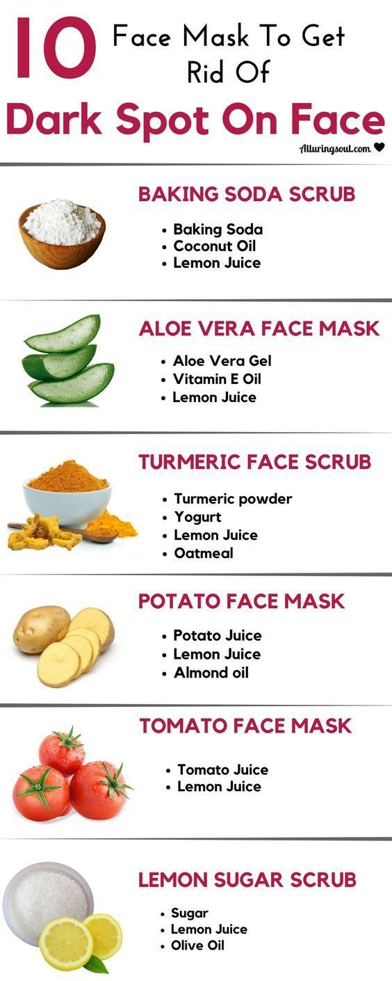 Face masks to get rid of Dark spots