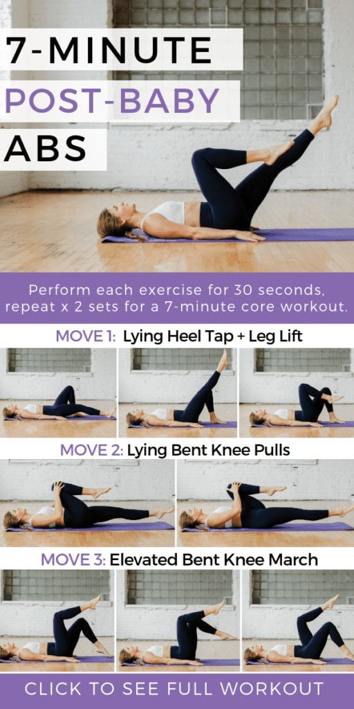7 minutes post Baby Abs