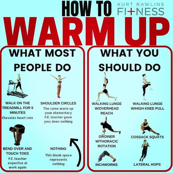 How to Warm up