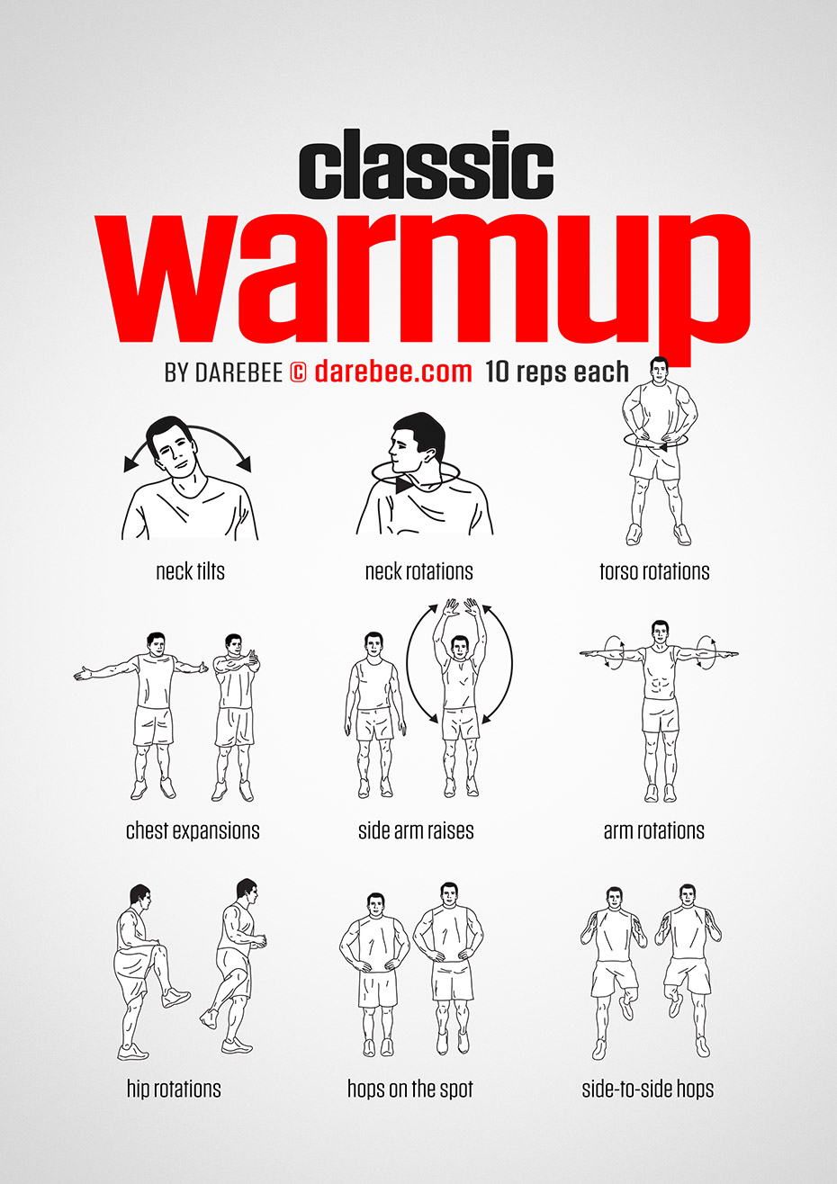 classic warmup workout