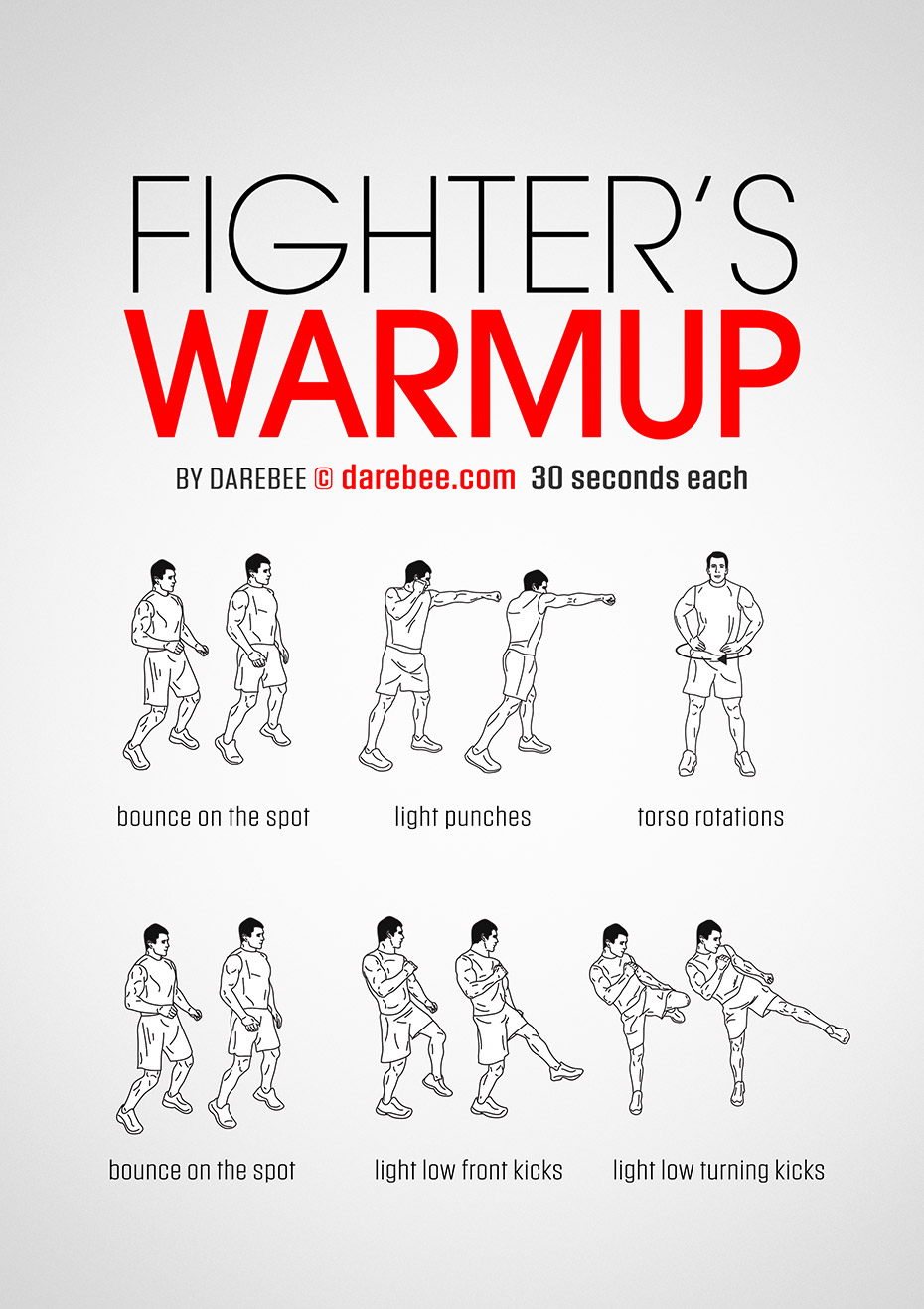 fighters warmup workout