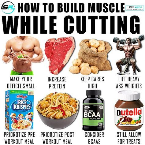 How to build muscle while cutting fat