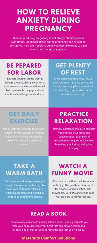 Relieve Anxiety during Pregnancy