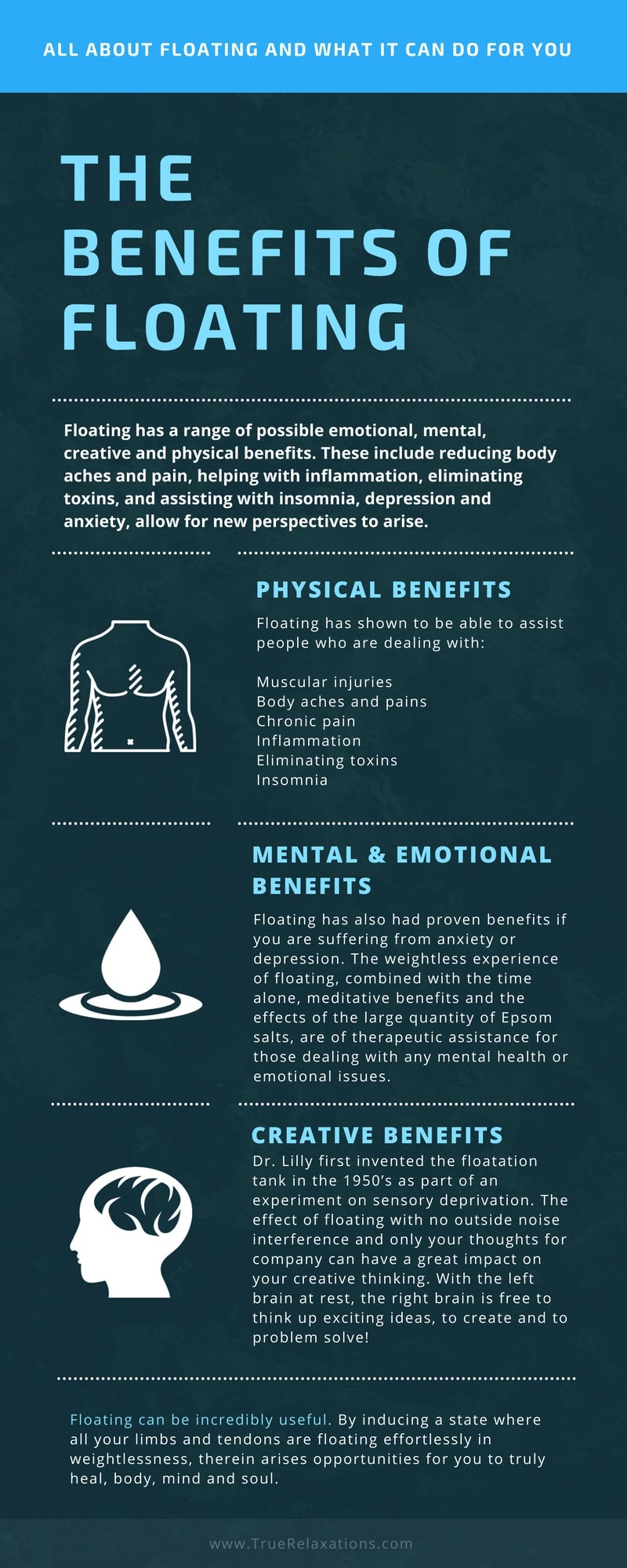 Benefits of Floating