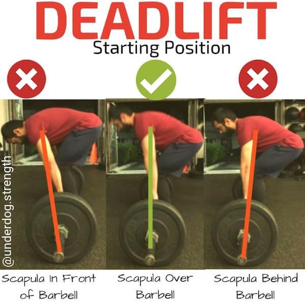 Deadlift Starting Position