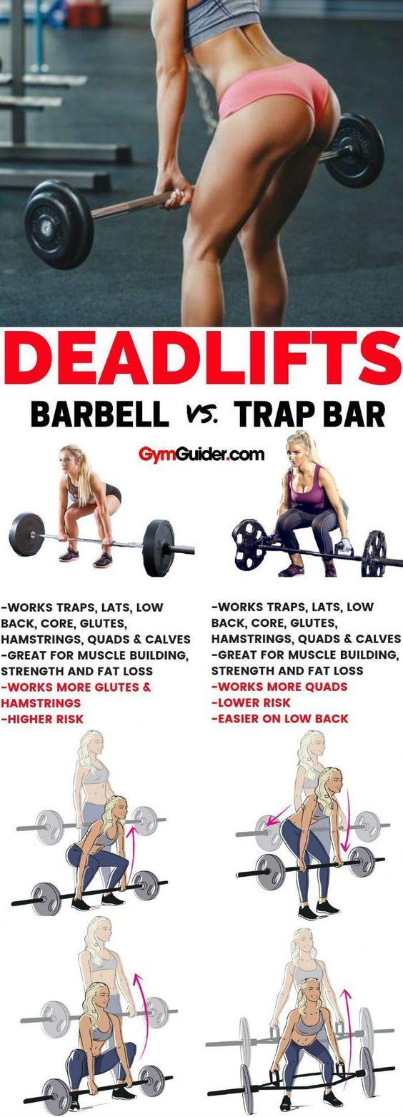 Deadlifts - Barbell vs Trapbar
