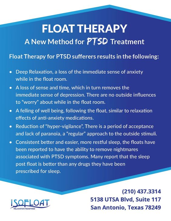 Float Therapy for PTSD Treatment