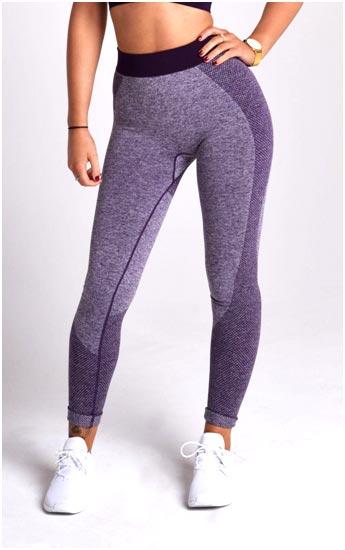 Purple Flex Gym leggings