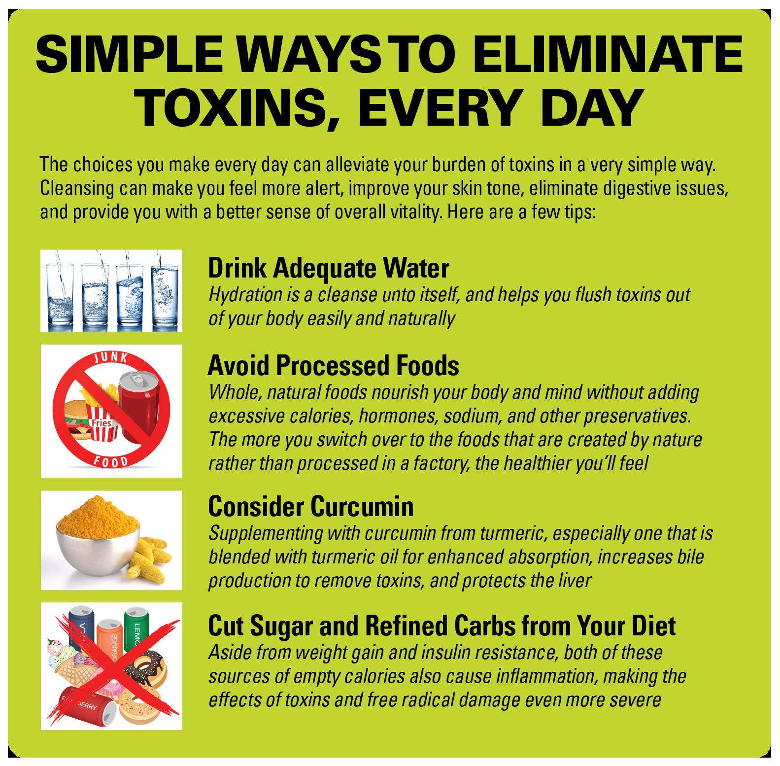Simple Ways Eliminate Toxins