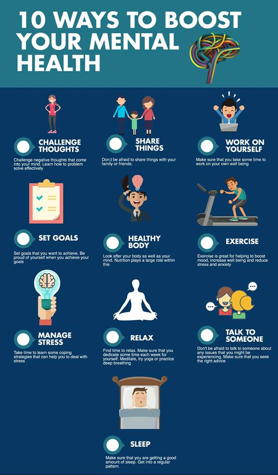 Ways to boost your mental health