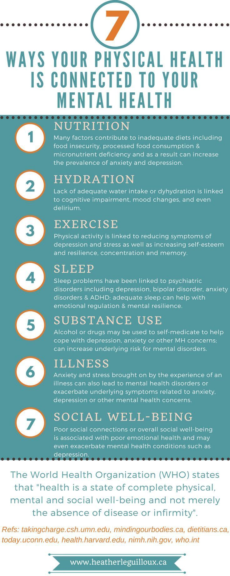 Ways your physical health is connected to your mental health