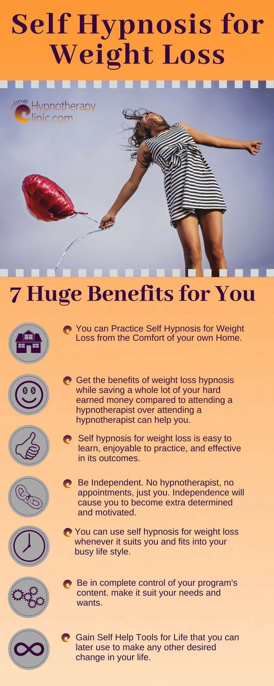 Benefits of Self Hypnosis for weight loss