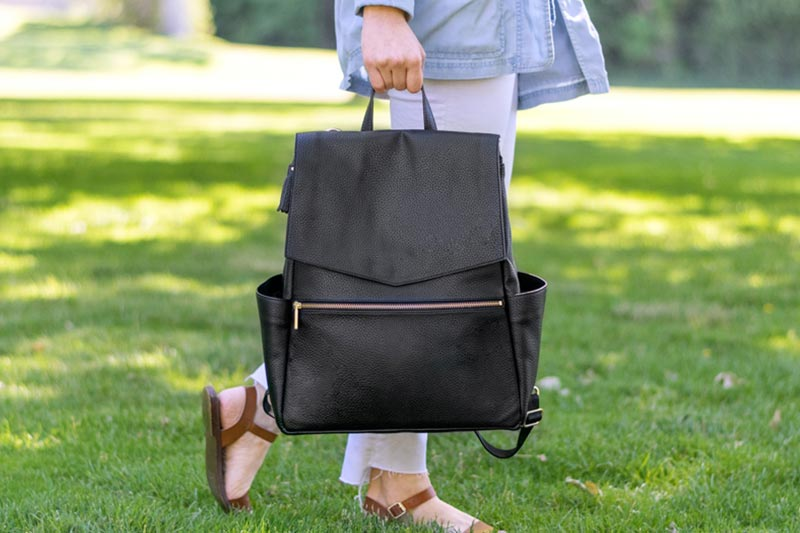 Diaper bags are available in several designs