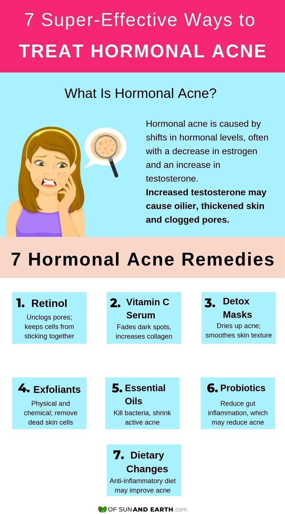 Effective ways to treat hormonal acne