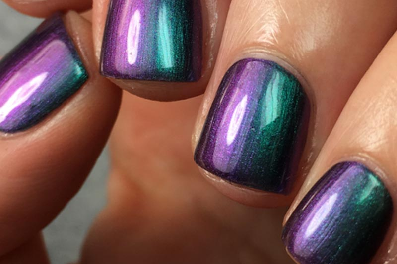Iridescent Nail Paint Color