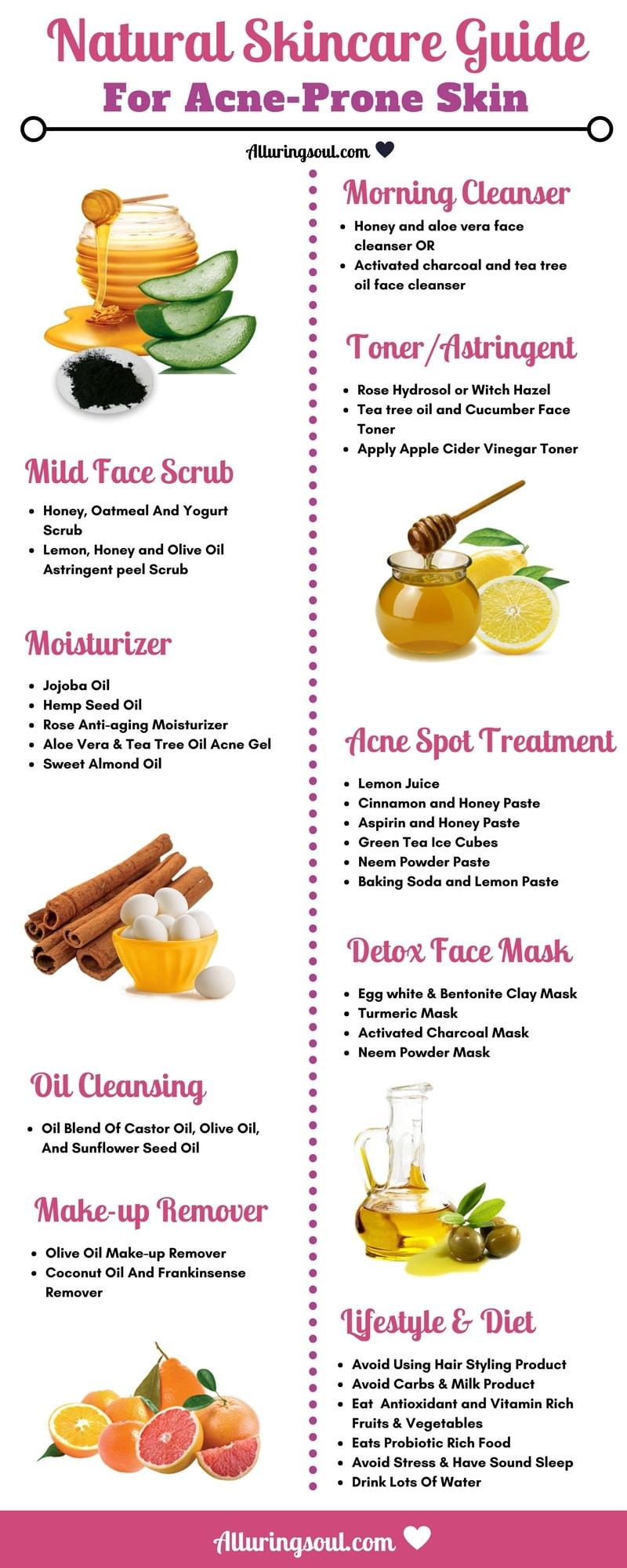 Natural Skincare Guide for Acne Prone Skin