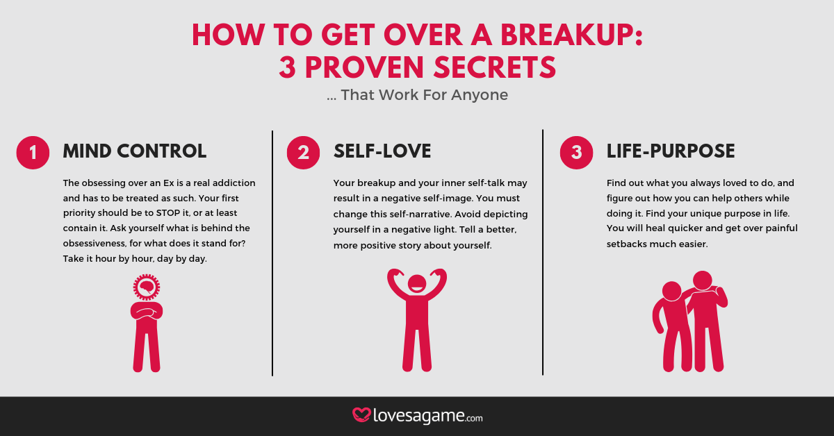 Get over a breakup