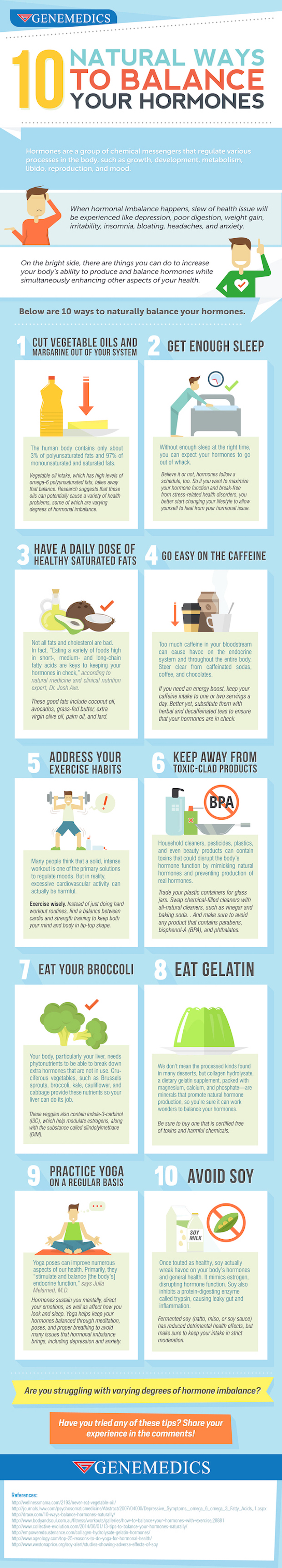 Natural Ways to Balance your Hormones