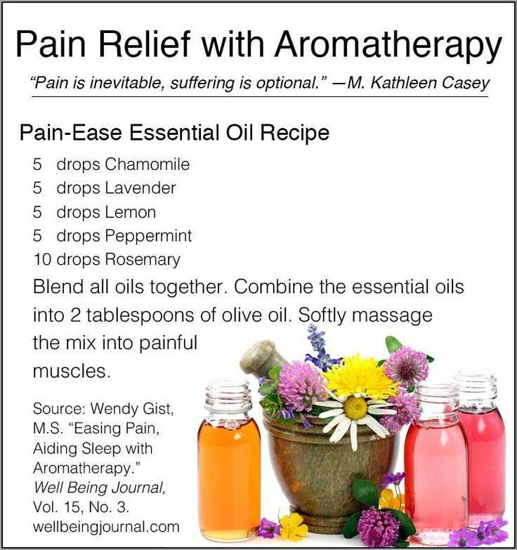 Pain Relief with Aromatherapy