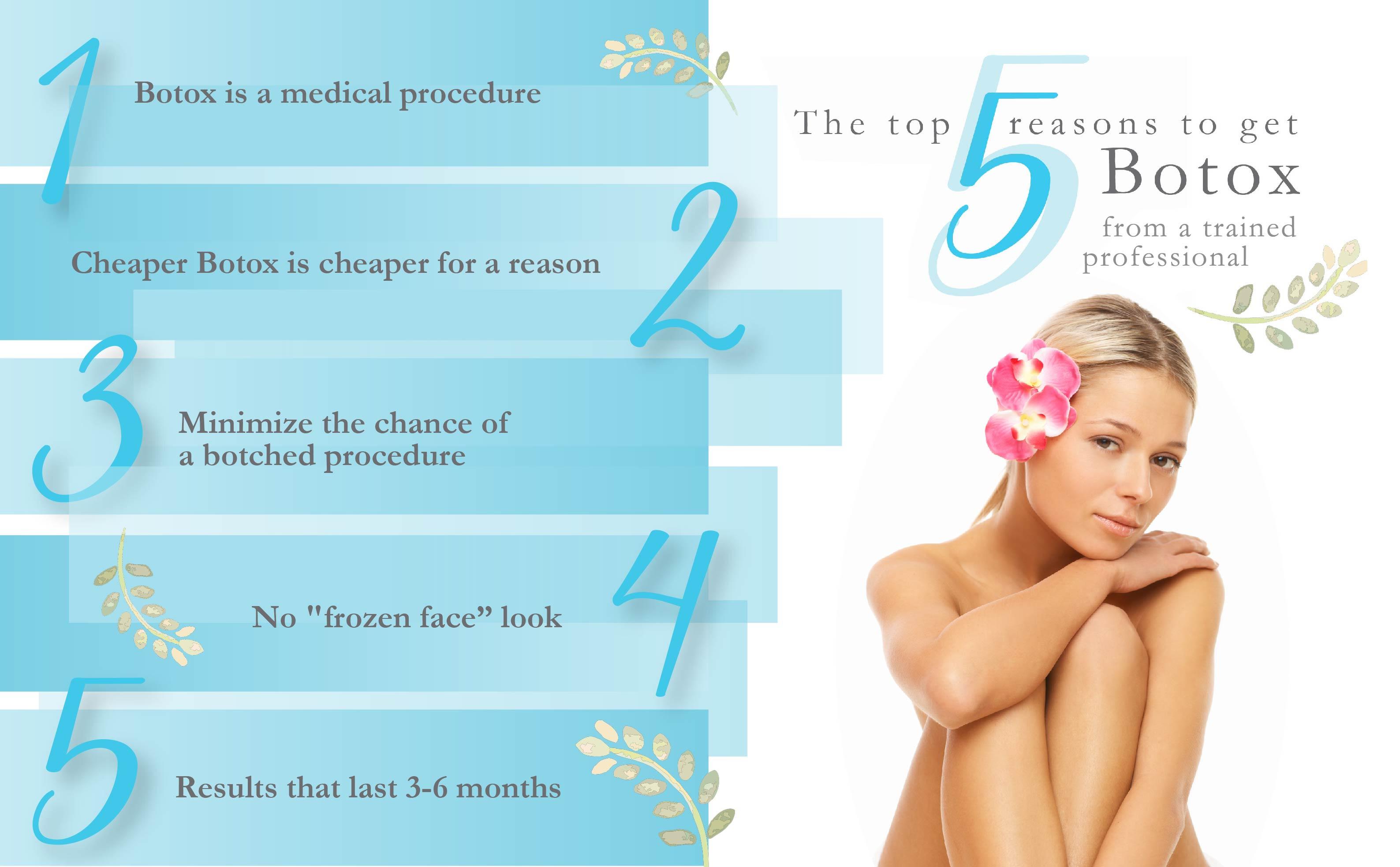Top reasons to get Botox
