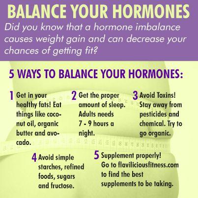 Ways to Balance your Hormones